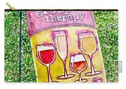 Wine Sign Carry-all Pouch