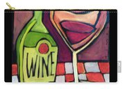 Wine Squared Carry-all Pouch