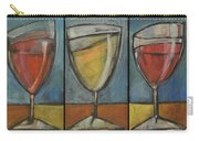 Wine Trio - Option One Carry-all Pouch by Tim Nyberg