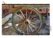 Wine Wagon Wheel Carry-all Pouch