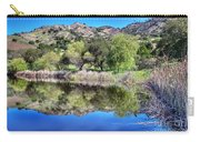 Winery Pond Reflections Carry-all Pouch