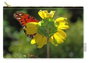 Wing Flower Carry-all Pouch