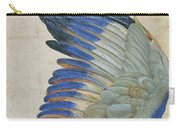 Wing Of A Blue Roller Carry-all Pouch