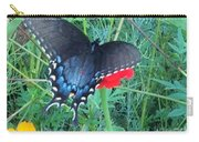 Wing Spread Butterfly Carry-all Pouch