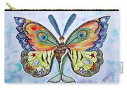 Winged Metamorphosis Carry-all Pouch by Lucy Arnold