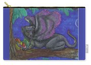 Winged Panther Kitten Cub Carry-all Pouch