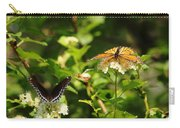 Wings And Blooms Carry-all Pouch