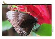 Wings Of Brown - Butterfly Carry-all Pouch