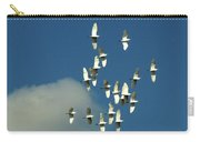 Wings Of White Carry-all Pouch
