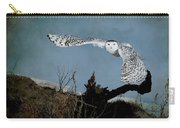 Wings Of Winter Carry-all Pouch