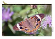 Wings Of Wonder - Common Buckeye Butterfly Carry-all Pouch