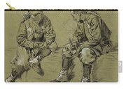 Winslow Homer 1836 - 1910 Study For The Brierwood Pipe Carry-all Pouch