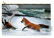 Winslow Homer's, 1893 ' The Fox Hunt ', Revisited 2016 Carry-all Pouch