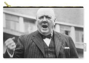 Winston Churchill Campaigning - 1945 Carry-all Pouch