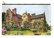 Winston Churchill Painting At Chartwell Carry-all Pouch