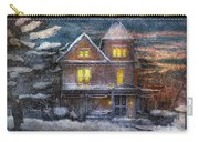 Winter - Clinton Nj - A Victorian Christmas  Carry-all Pouch