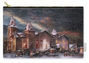 Winter - Clinton Nj - Silent Night  Carry-all Pouch