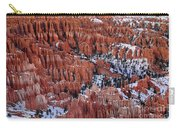 Winter Afternoon At Inspiration Point Bryce Canyon National Park  Utah Carry-all Pouch