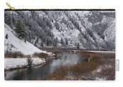 Winter Along The Salt Carry-all Pouch