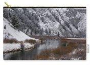 Winter Along The Salt Carry-all Pouch
