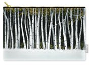 Winter Aspens II Carry-all Pouch