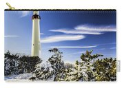 Winter At Cape May Light Carry-all Pouch