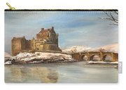 Winter At Eilean Donan Carry-all Pouch