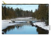 Winter At Hickey Creek Carry-all Pouch