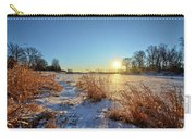 Winter At Mayne's Carry-all Pouch