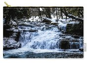 Winter At Mill Creek Falls No. 1 Carry-all Pouch