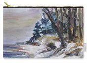Winter At The Baltic Sea  Carry-all Pouch