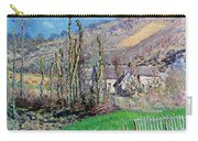 Winter At The Val De Falaise Carry-all Pouch