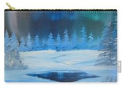 Winter Aurora Carry-all Pouch