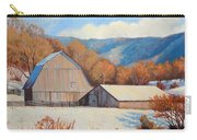Winter Barns Carry-all Pouch