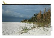 Winter Beauty At The Beachside Carry-all Pouch