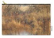 Winter Beaver Dam Charm Co     Carry-all Pouch