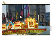 Winter Blast In Detroit Carry-all Pouch