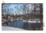 Winter Blue James River Carry-all Pouch