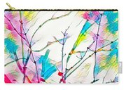 Winter Branch Colors Carry-all Pouch