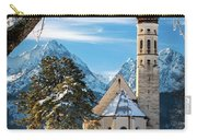 Winter Church In Bavaria Carry-all Pouch