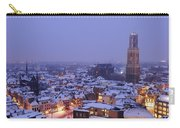 Winter Cityscape Of Utrecht In The Evening 14 Carry-all Pouch
