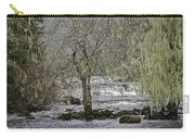 Winter Colors On The Klawock Carry-all Pouch