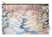 Winter Creek 1  Carry-all Pouch