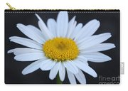 Winter Daisy Carry-all Pouch
