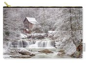 Winter Day At The Mill  Carry-all Pouch
