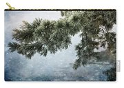 Winter Decor Carry-all Pouch