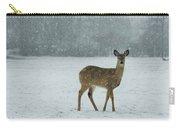 Winter Deer Walk Carry-all Pouch