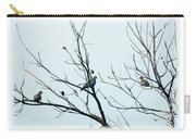 Winter Doves Carry-all Pouch