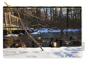 Winter Ducks Carry-all Pouch