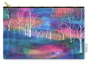 Winter Embraces Spring Carry-all Pouch